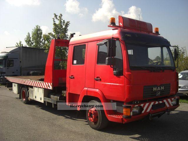 2003 MAN  LE180C/DOPPELKABINE Truck over 7.5t Breakdown truck photo