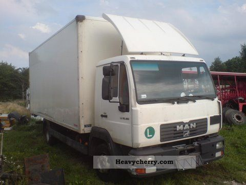 2003 MAN  LE 10-180160220 € 3 tylko na czesci Truck over 7.5t Chassis photo