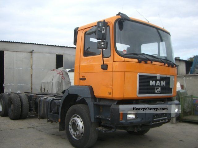 1997 MAN  26.403 6x4 chassis Truck over 7.5t Chassis photo