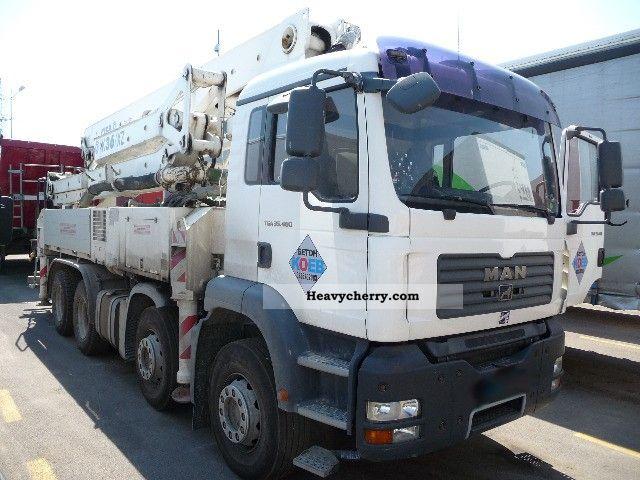 2007 MAN  35 400 TGA Concrete pump CIFA K 36 XZ Truck over 7.5t Concrete Pump photo