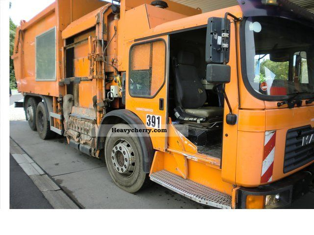 2000 MAN  26.293 6x2 Truck over 7.5t Refuse truck photo