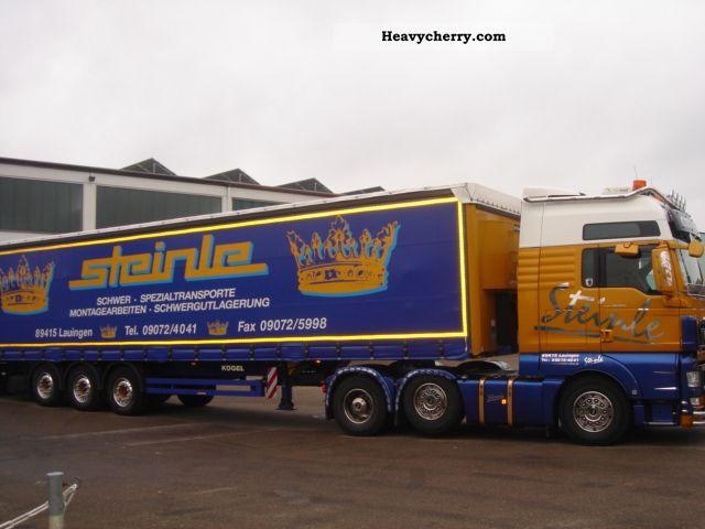 2010 MAN  26:540 leading axle € 5 Semi-trailer truck Heavy load photo