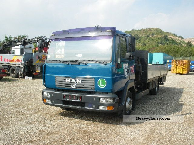 2003 MAN  LE 9220 BL Tirre 61 12mtr. Truck over 7.5t Stake body photo