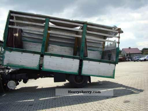 1992 MAN  19-322 TIPPER Wywrot Paszowóz Strony Żmijka 3 * Truck over 7.5t Grain Truck photo