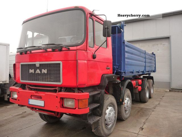 1993 MAN  35 372 Truck over 7.5t Three-sided Tipper photo