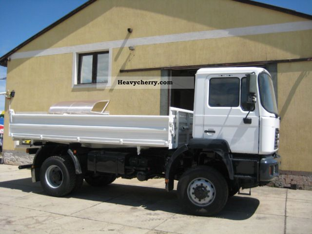 1999 MAN  19 364 4X4 Truck over 7.5t Three-sided Tipper photo