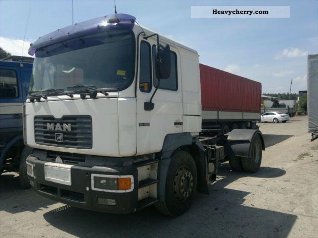 2000 MAN  19 464 Semi-trailer truck Standard tractor/trailer unit photo