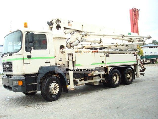 1996 MAN  26 343 Schwing 34m / German Machine Truck over 7.5t Concrete Pump photo