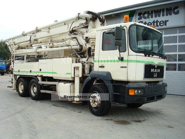 Man 26 343 Schwing 34m German Machine 1996 Concrete Pump