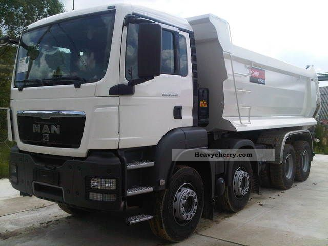 2011 MAN  TGS 41.440 8x4 with compact design Truck over 7.5t Tipper photo
