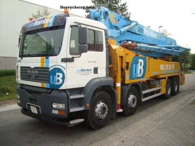 2006 MAN  TGA 41 460 8X4 STEEL Truck over 7.5t Concrete Pump photo