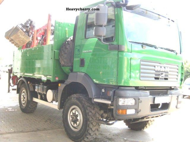 2007 MAN  TGM 13.280 * timber crane, winch * Truck over 7.5t Timber carrier photo