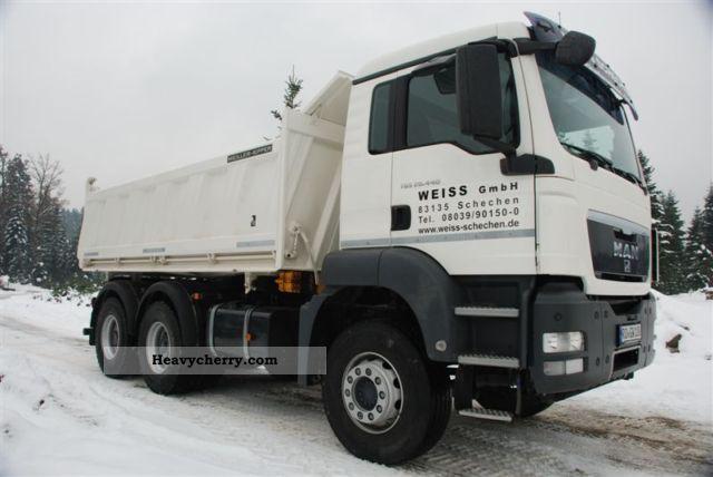2010 MAN  TGS 26.440 6x4 BB Truck over 7.5t Three-sided Tipper photo
