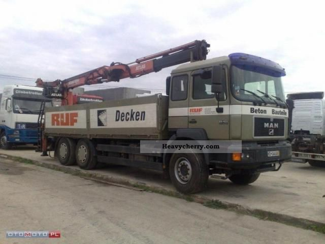 1999 MAN  26.403 6x4 Van or truck up to 7.5t Other vans/trucks up to 7 photo