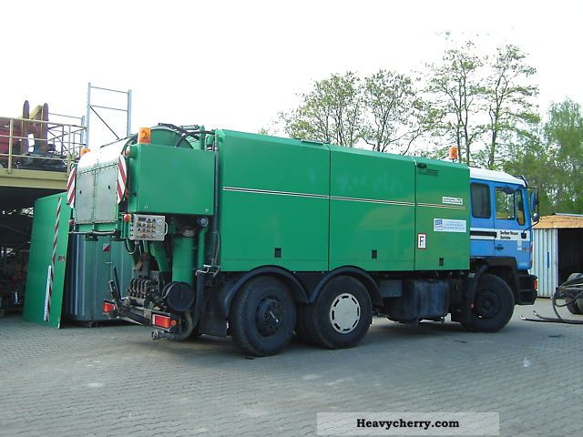 1995 MAN  Wiedemann trucks and Reichert Truck over 7.5t Vacuum and pressure vehicle photo
