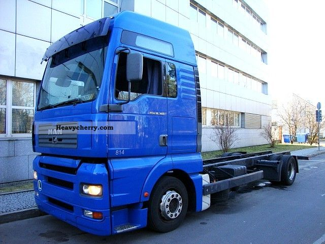 2003 MAN  TGA 18.360 XXL chassis chassis manual climate Truck over 7.5t Chassis photo