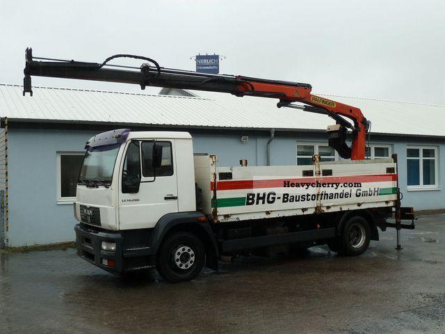 2003 MAN  LE 14.280 Lorry Crane Palfinger PK9501 Truck over 7.5t Truck-mounted crane photo