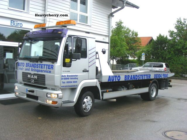 2003 MAN  LE 8180 (L 2000) Van or truck up to 7.5t Car carrier photo