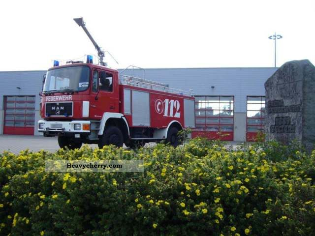 1992 MAN  Fire, WD, 4x4, Fire Truck, TLF Truck over 7.5t Vacuum and pressure vehicle photo