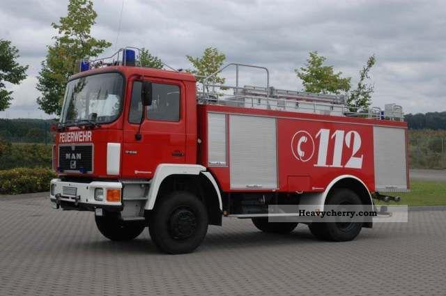1992 MAN  Fire, WD, 4x4, Fire Truck, TLF Truck over 7.5t Tank truck photo