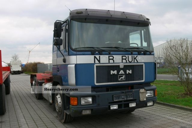 1992 MAN  F06 24 422 Truck over 7.5t Roll-off tipper photo