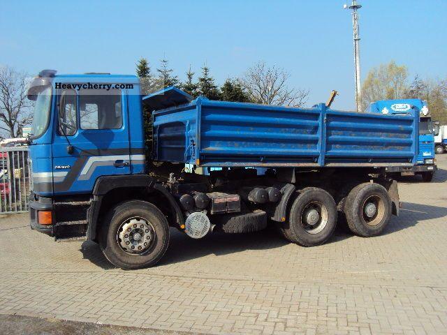 1992 MAN  AFRICA 6x4 .... Meiller - Tipper! Truck over 7.5t Three-sided Tipper photo