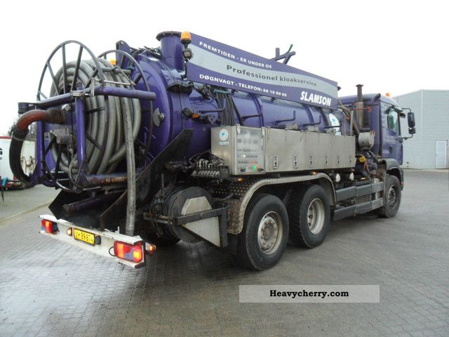 2007 MAN  25 364 TGA FNLLC Truck over 7.5t Vacuum and pressure vehicle photo