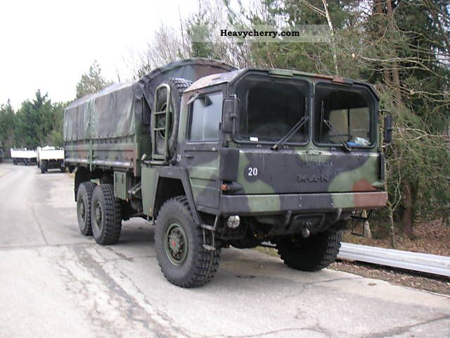 man kat 1 6x6 military bw 1979 stake body truck photo and. Black Bedroom Furniture Sets. Home Design Ideas