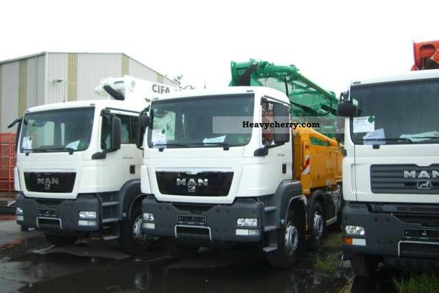 2011 MAN  TGS 33 460 concrete pump CIFA 41 Truck over 7.5t Concrete Pump photo