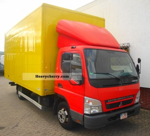 Mitsubishi Fuso Canter 6C15 Möbelkoffer 2007 Box Truck Photo and Specs