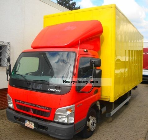 Mitsubishi Fuso Canter 6C15 Möbelkoffer 2007 Box Truck Photo