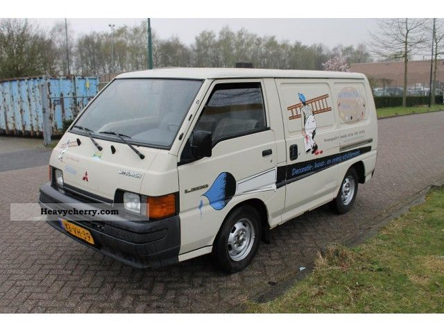 1994 Mitsubishi L300 25 DSL PV BJ Van Or Truck Up To