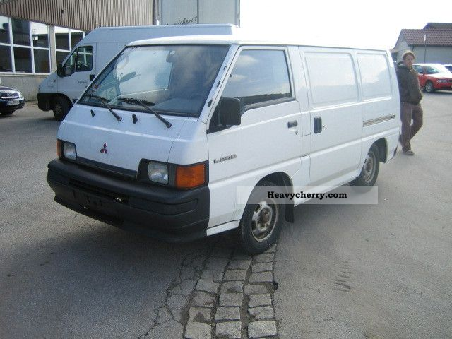 1997 Mitsubishi L 300 Van Or Truck Up To 75t Box Type Delivery
