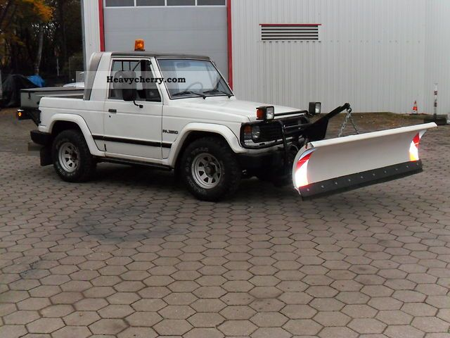 1988 Mitsubishi  Pajero Agricultural vehicle Other agricultural vehicles photo