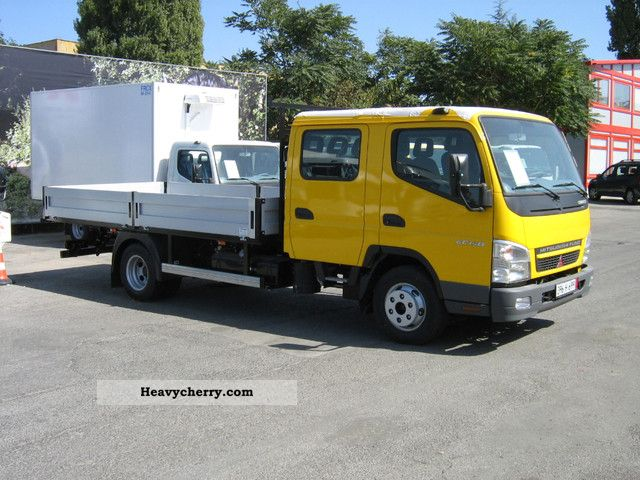 2011 Mitsubishi  canter 6C15D Van or truck up to 7.5t Stake body photo