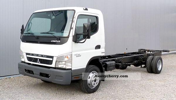 Mitsubishi Fuso Canter 7C18 - New Vehicle 2012 Chassis Truck