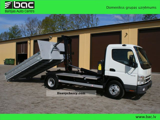 2011 Mitsubishi  Fuso Canter 7C15 Van or truck up to 7.5t Stake body photo