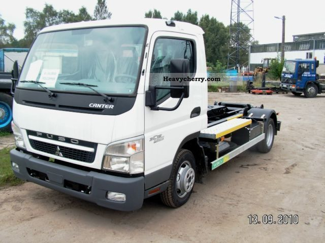 2011 Mitsubishi  CANTER 3C15 HAKOWIEC HKS 6 NOWY Van or truck up to 7.5t Roll-off tipper photo