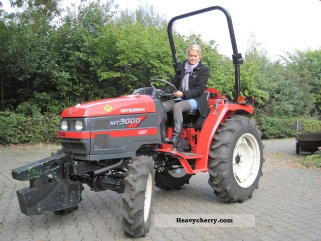 Mitsubishi Tractor 2454 : Mitsubishi mt  agricultural tractor photo and specs