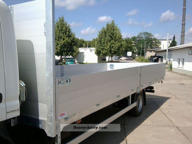 2011 Mitsubishi  Canter 7C15 long platform / EURO5 Van or truck up to 7.5t Stake body photo