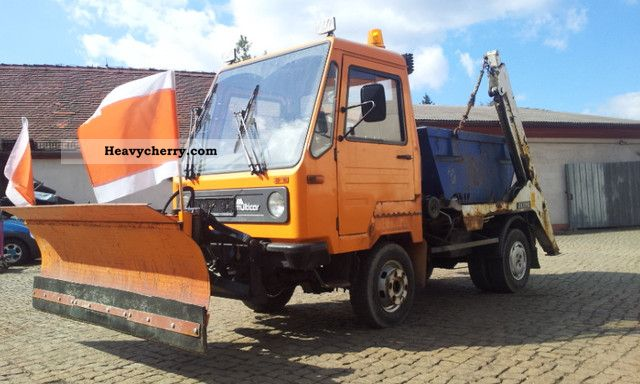 multicar m26 vw 4x4 loader local 1994 dumper truck photo and specs. Black Bedroom Furniture Sets. Home Design Ideas