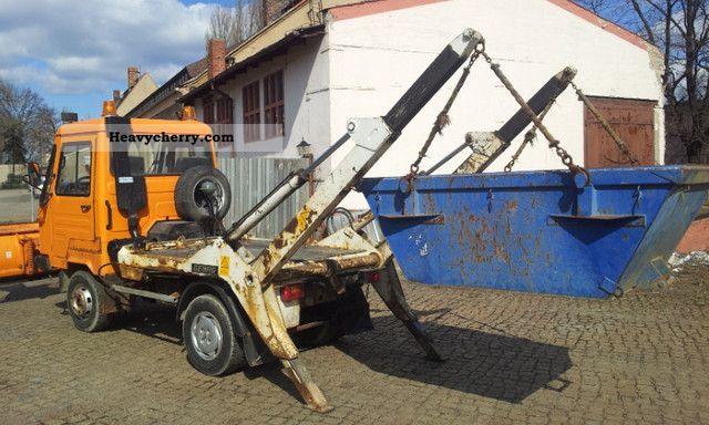 multicar m26 vw 4x4 loader local 1994 dumper truck photo. Black Bedroom Furniture Sets. Home Design Ideas