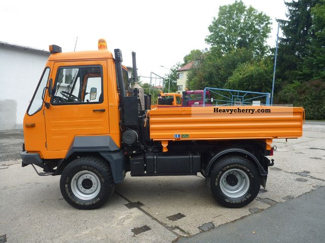 Multicar M26.7 4x4 Profiline 2007 Three-sided Tipper Truck Photo and Specs