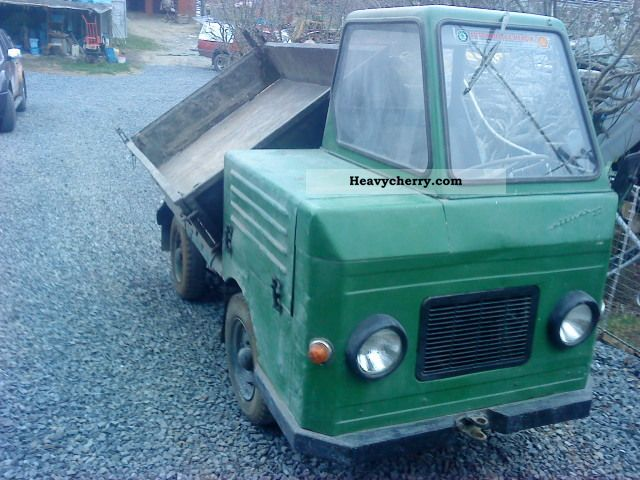 1966 Multicar  22 Van or truck up to 7.5t Three-sided Tipper photo