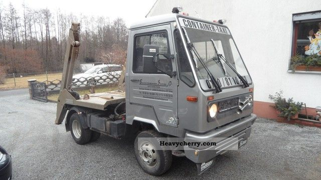 multicar m26 4x4 ivecomotor 1996 dumper truck photo and specs. Black Bedroom Furniture Sets. Home Design Ideas
