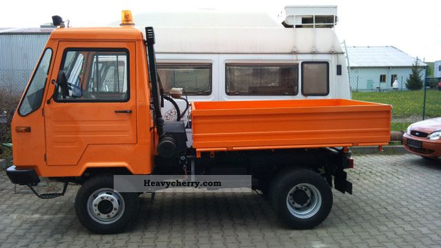 1994 Multicar  M26 wheel dump truck rebuild Van or truck up to 7.5t Three-sided Tipper photo