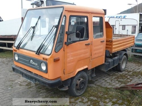 1995 Multicar  M26 Doka / Tipper Ivecomotor Van or truck up to 7.5t Three-sided Tipper photo