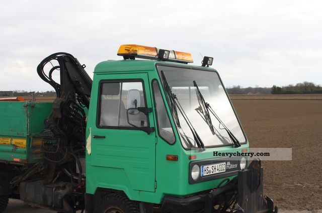 1995 Multicar  M26 Van or truck up to 7.5t Three-sided Tipper photo
