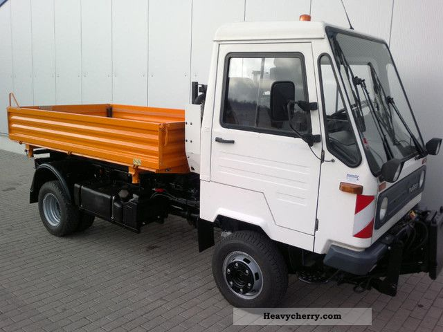 multicar m26 4 al 4x4 h profiline 2002 tipper truck photo and specs. Black Bedroom Furniture Sets. Home Design Ideas