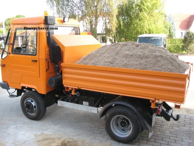 multicar m26 4x4 local winter creeper 1994 tipper truck. Black Bedroom Furniture Sets. Home Design Ideas